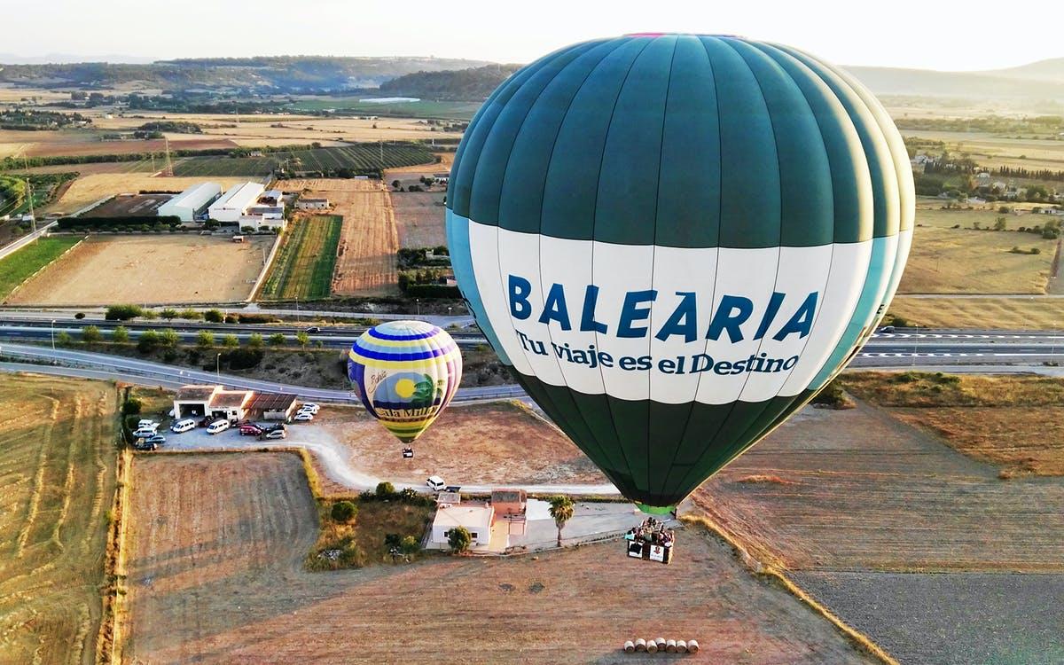 hot air balloon ride in mallorca -0