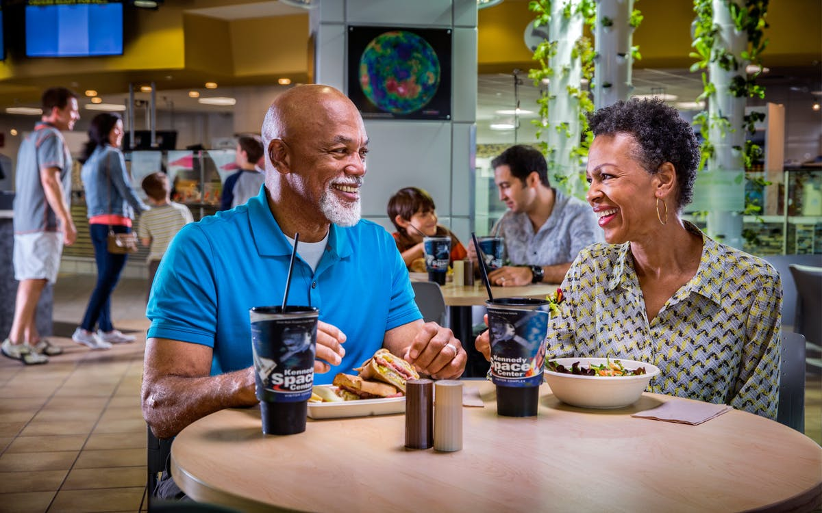 dine with an astronaut at kennedy space center-0