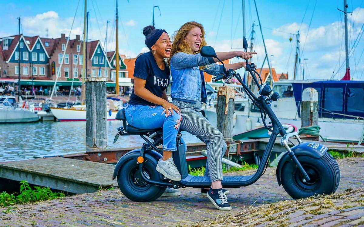 e-scooter rental - countryside of amsterdam (volendam)-1