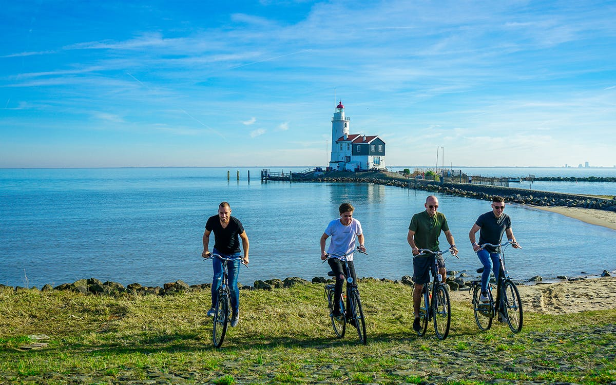 self-guided countryside bike tour with boat ticket-0