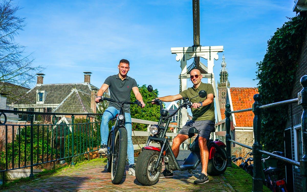 e-scooter tour of edam & volendam + entry to the edam cheese museum-1