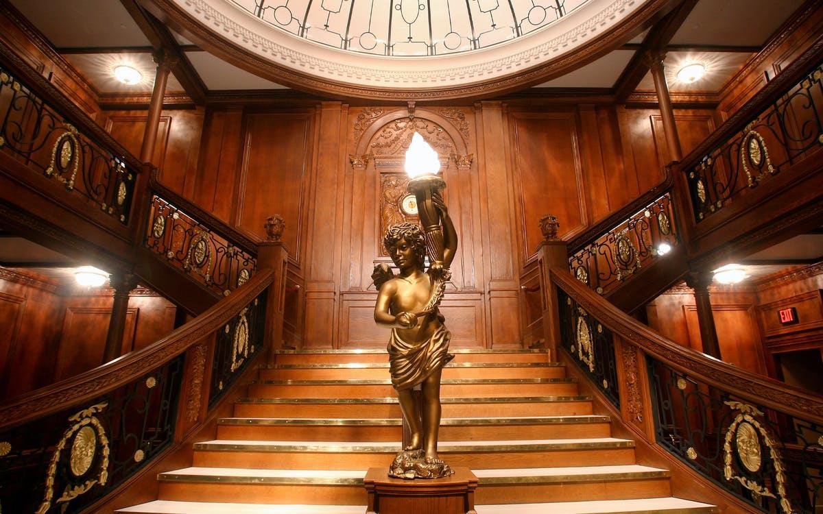 titanic artifact exhibition : admission tickets-0