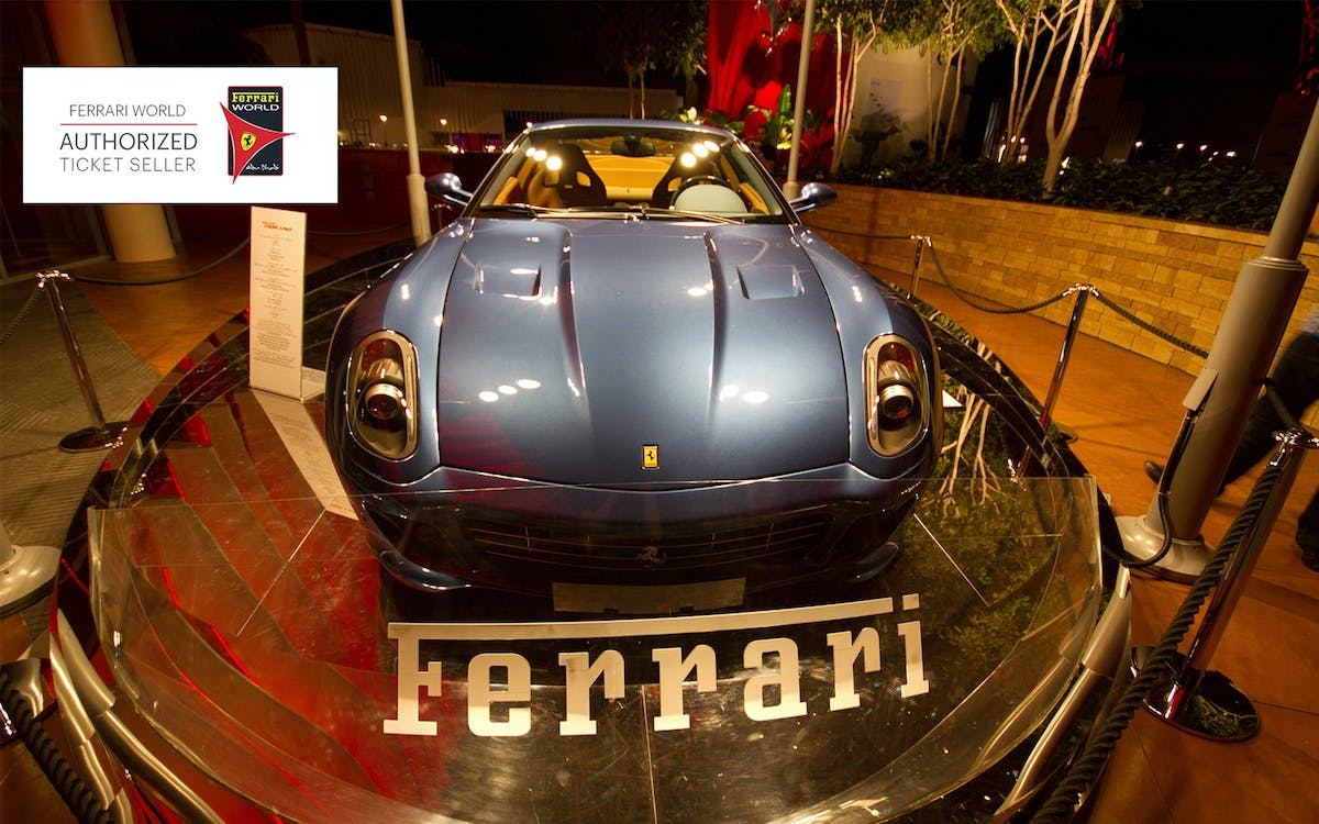 ferrari world with 3 ride quick pass with transfers-1