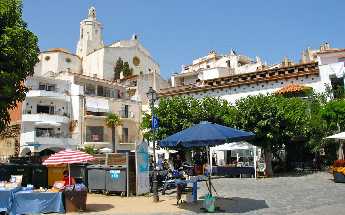 walking tour of the town of cadaqués with boat trip from cadaqués to cap de creu-0