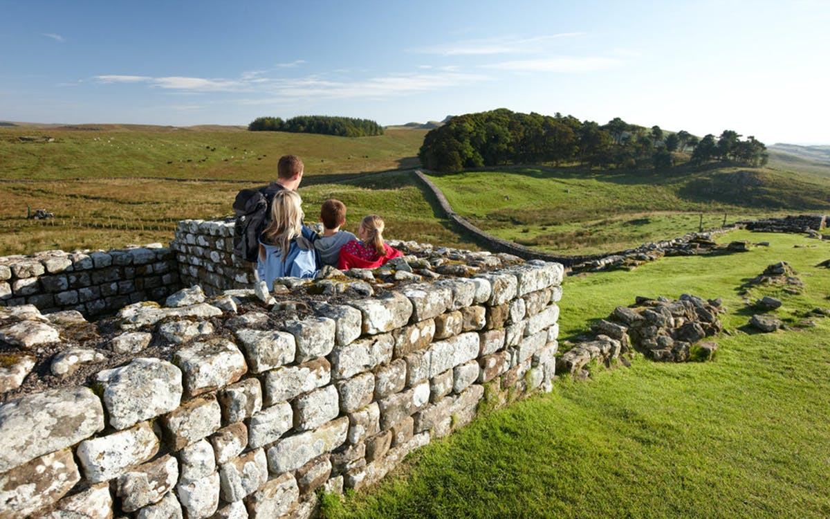 housesteads roman fort: admission ticket-0