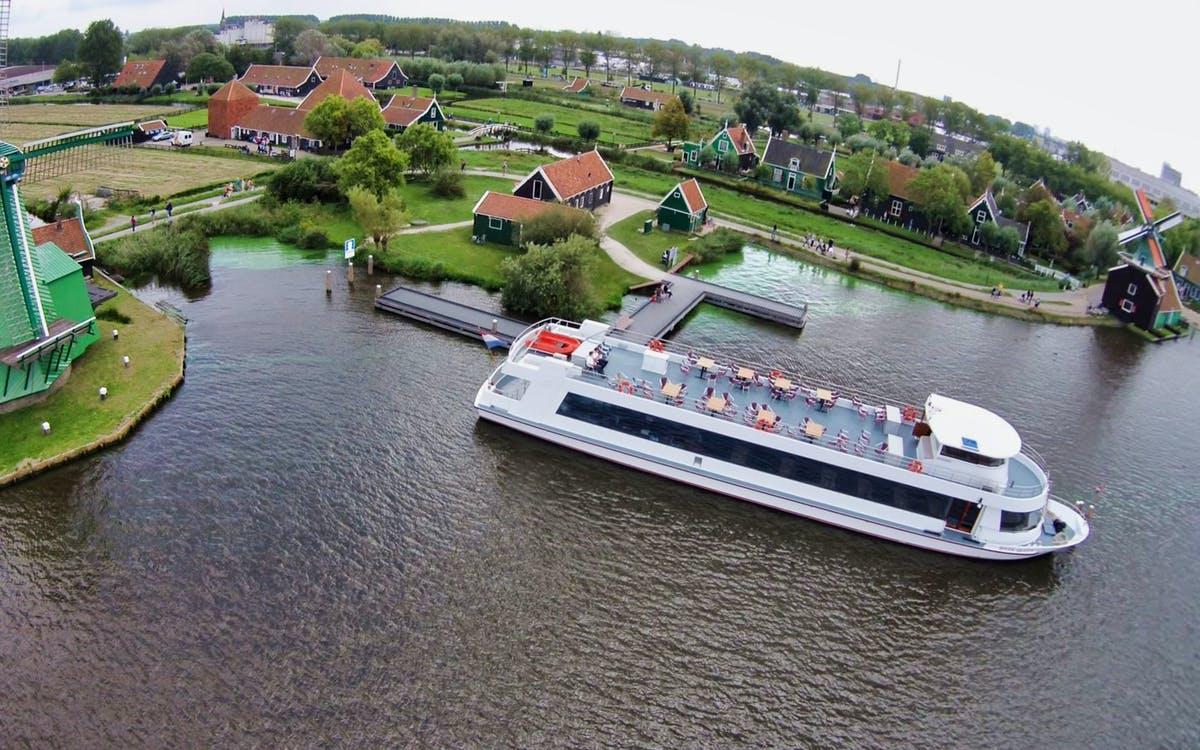 zaanse schans : the windmill village boat tour from amsterdam-0