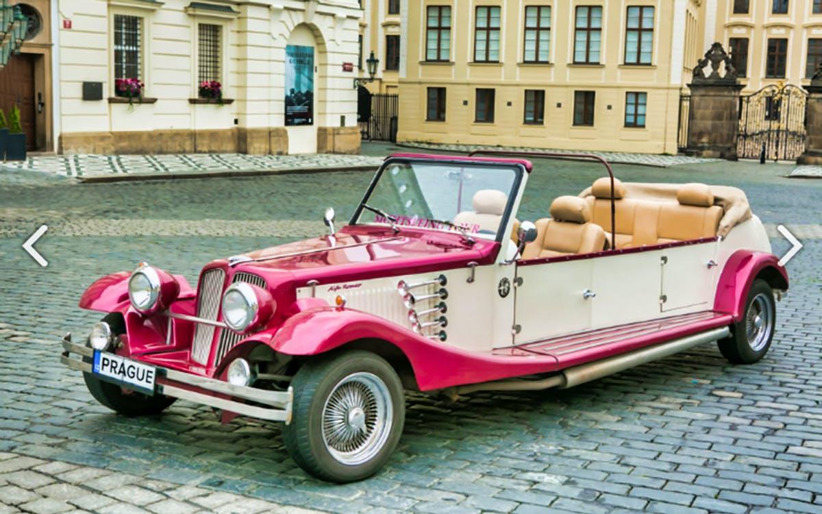 prague sightseeing tour on a vintage car-0