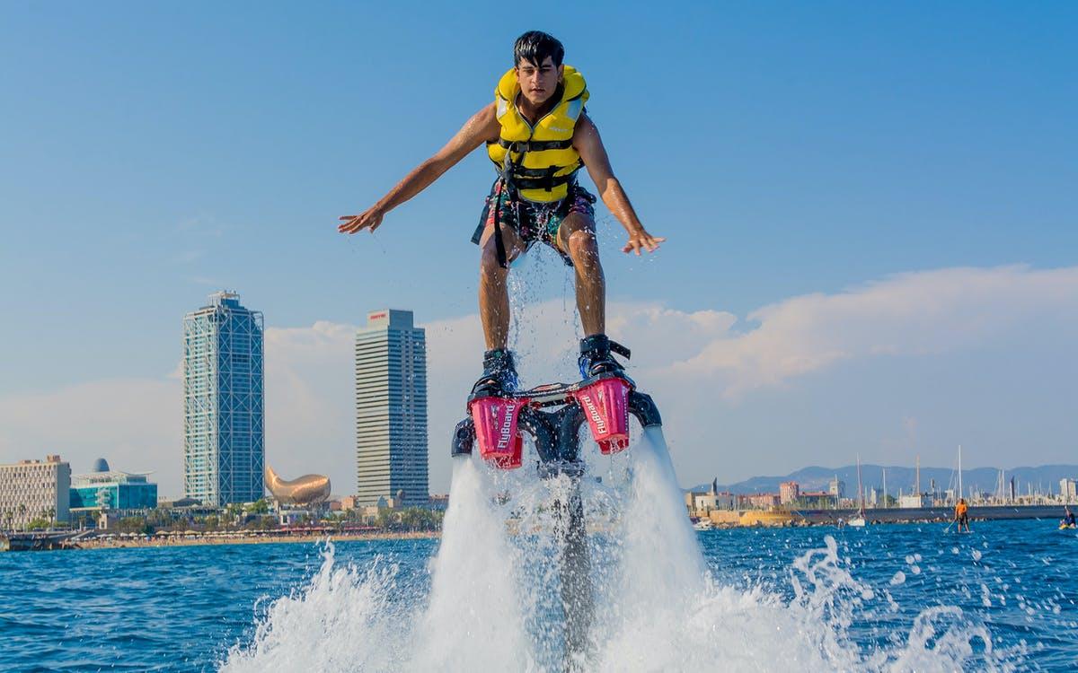 flyboard experience in barcelona-0
