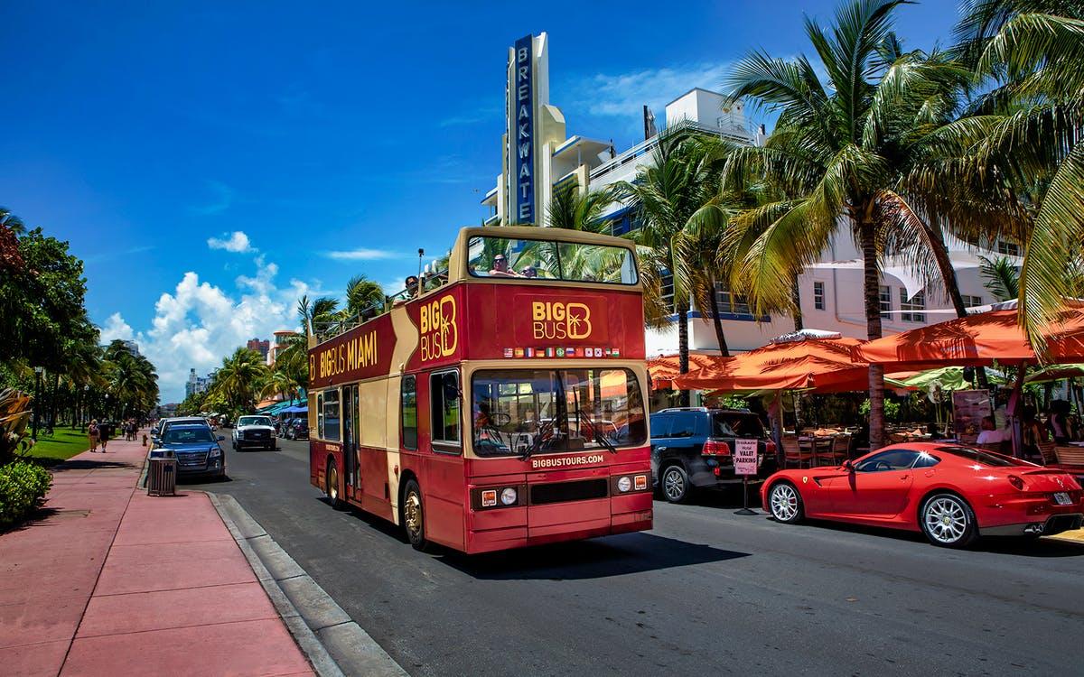 miami city: hop on hop off bus tour-0