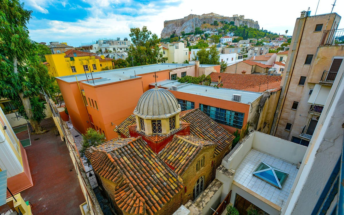 athens city and streets walking tour-0