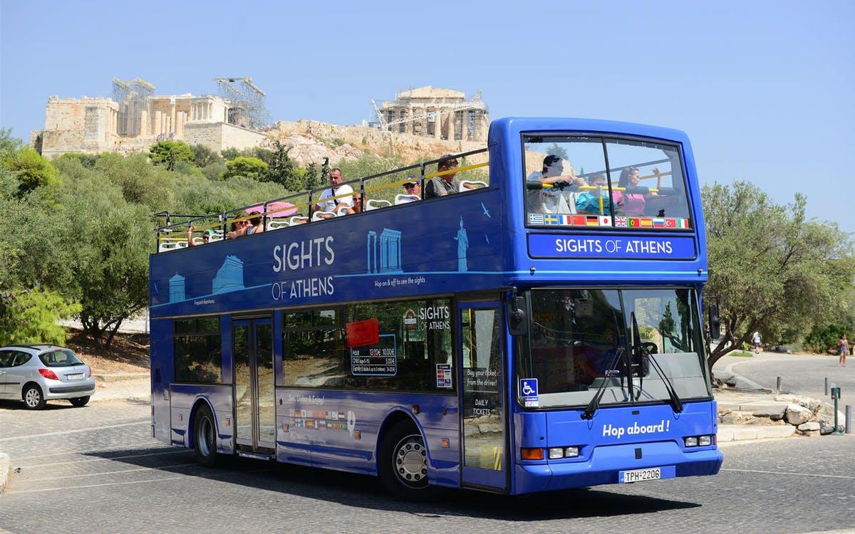 hop on hop off classic tour of athens, piraeus & beaches with optional new museu-0