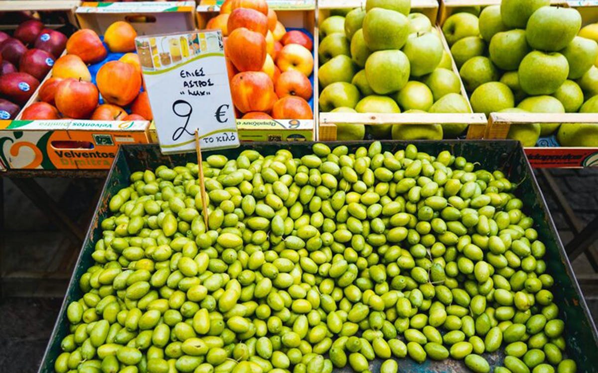 athens food market tour and greek taverna lunch-0