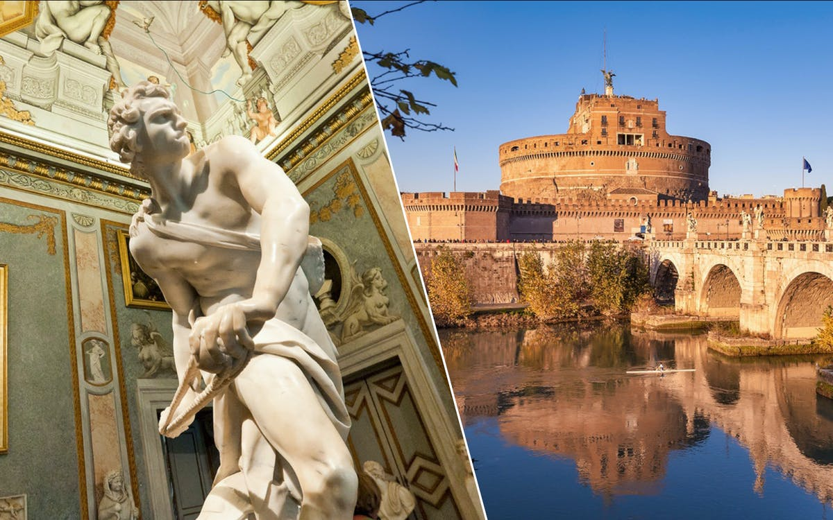 borghese entry & castel st angelo entry-0