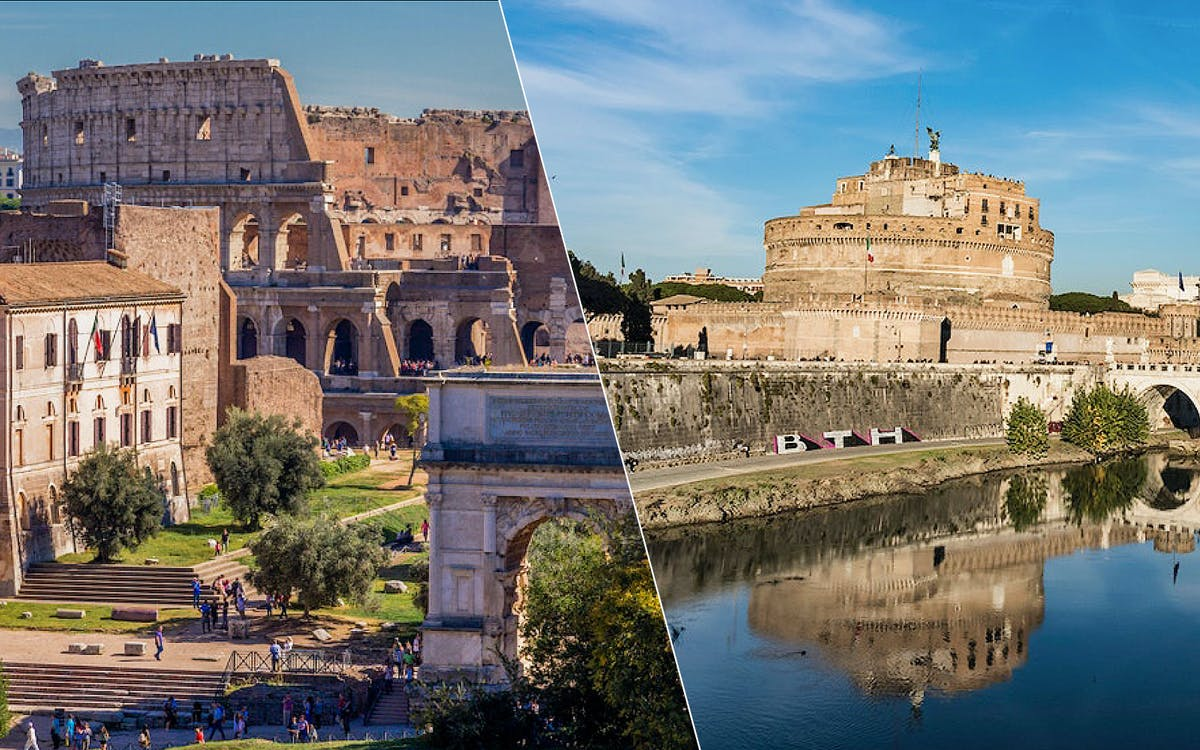 colosseum entry & castel st angelo entry-0