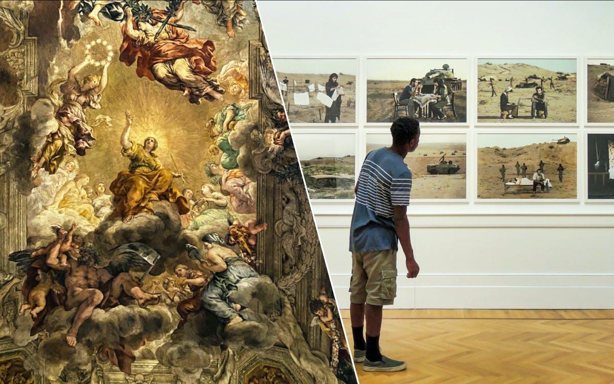 palazzo barberini entry + galleria arte moderna nazionale entry-0