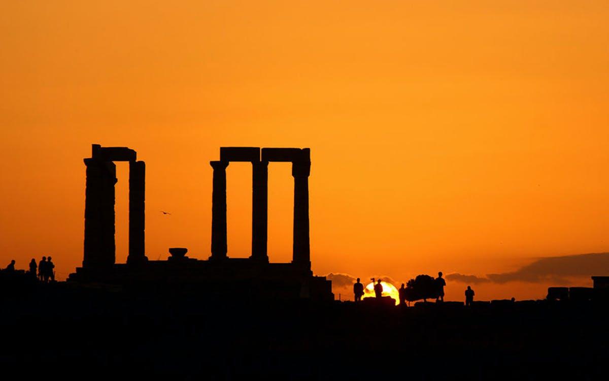 sunset trip to cape sounion & temple of poseidon-0