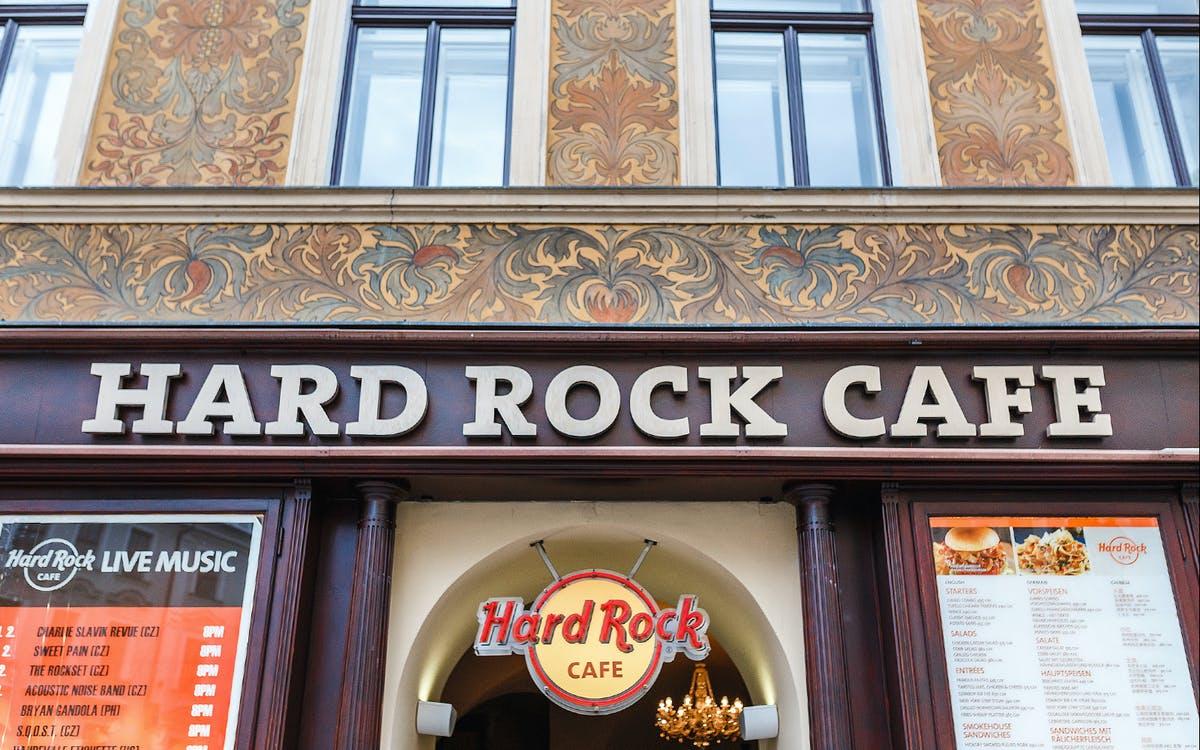 hard rock cafe prague dinner: skip the line-0
