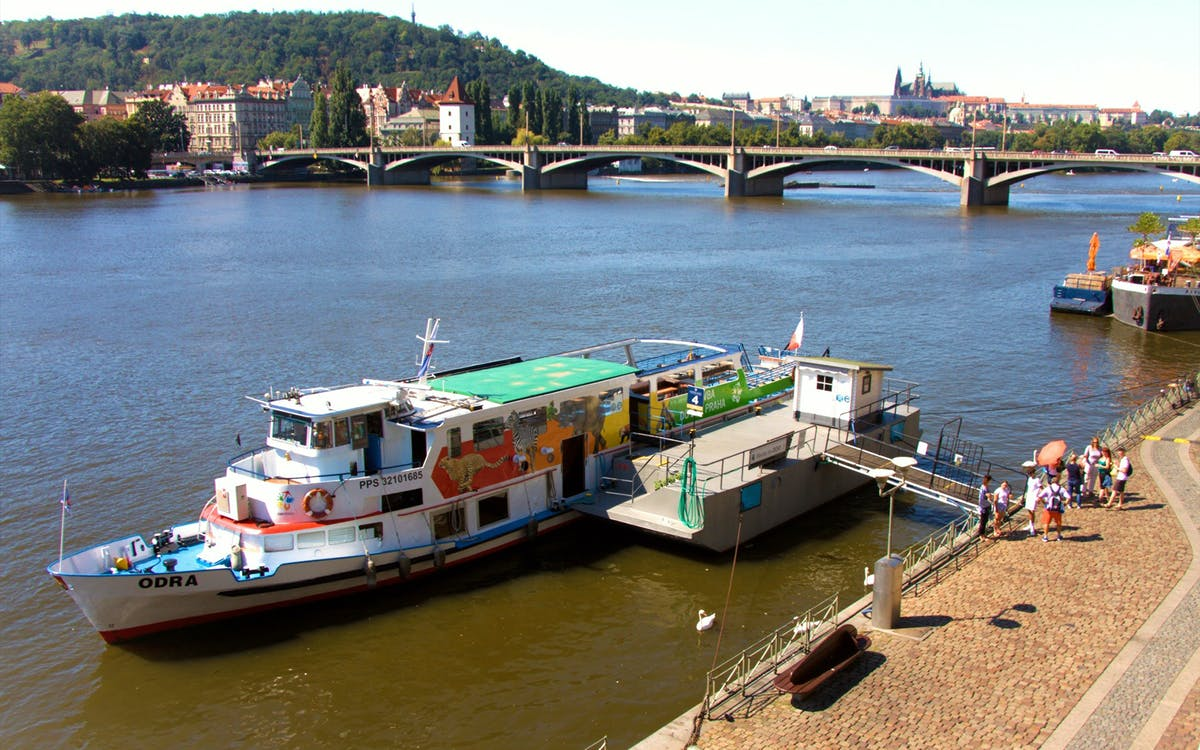 river cruise to the prague zoo & entrance ticket-0