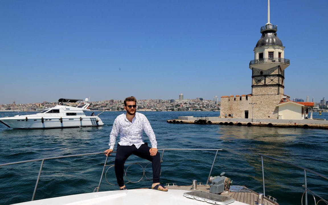 istanbul: maiden tower ferry line-0