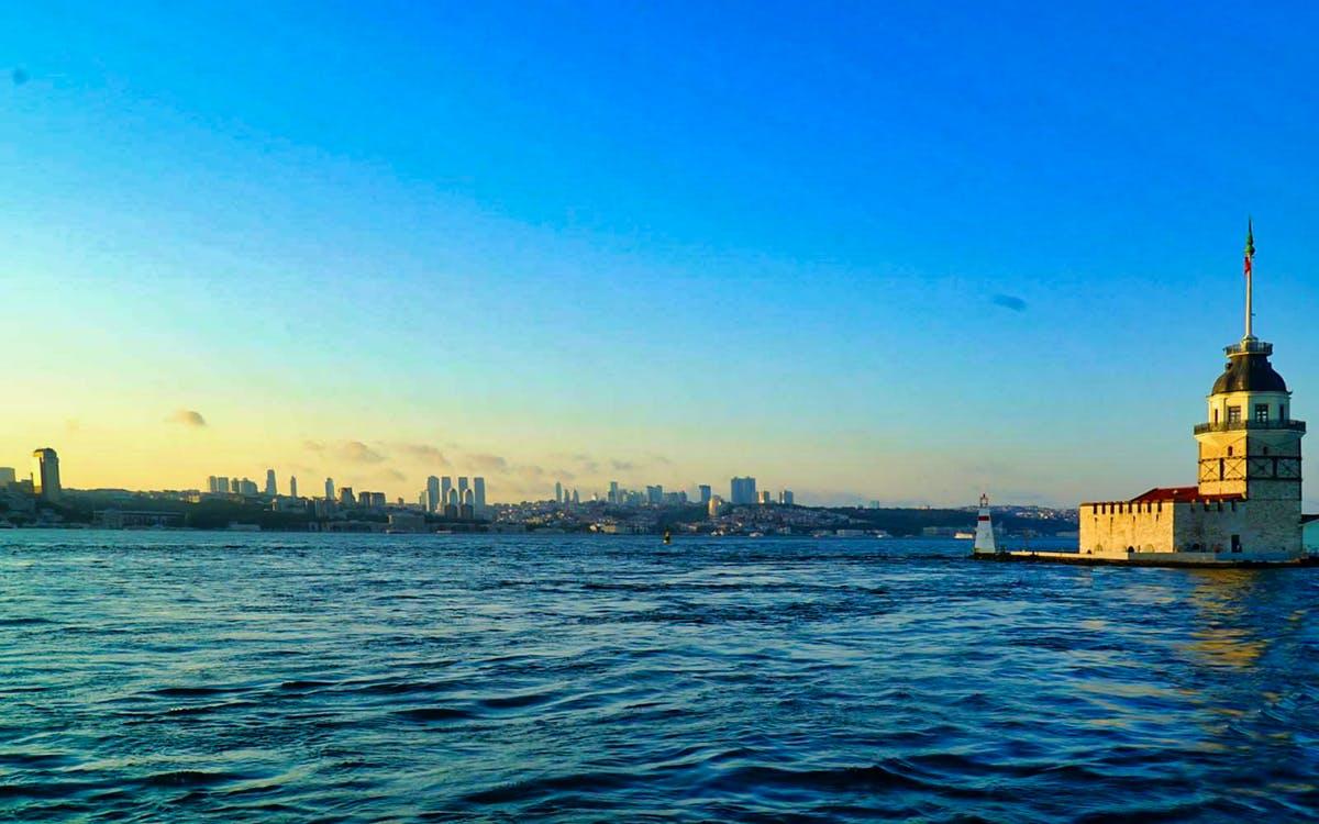 istanbul: evening sunset cruise on regular boat-0