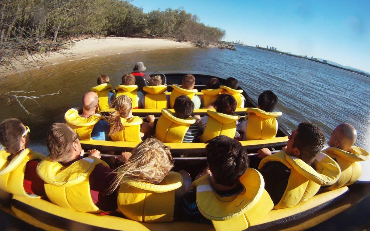 paradise jet boating & aquaduck safari combo-0