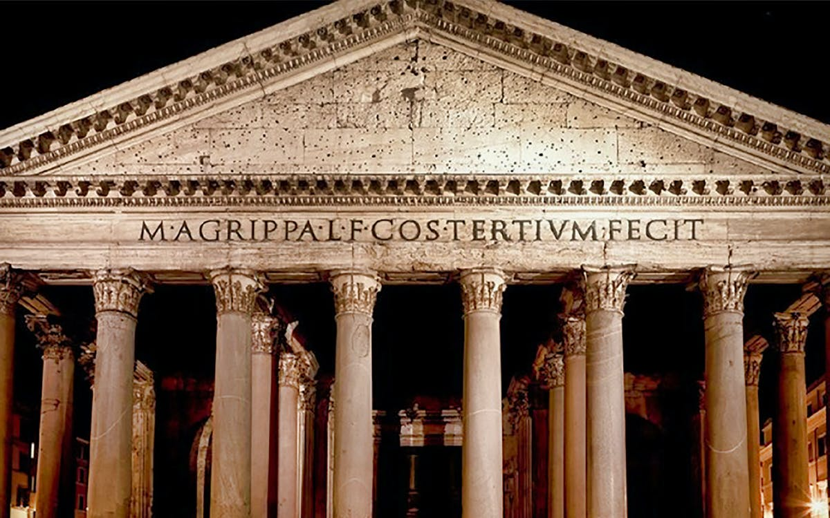rome - english-guided tour of the pantheon-0