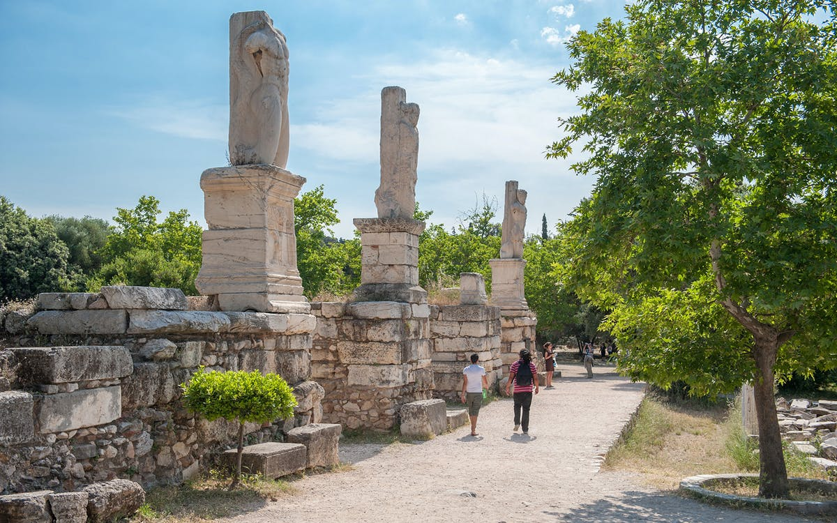 ancient agora: skip-the-line e-ticket with audio tour-0