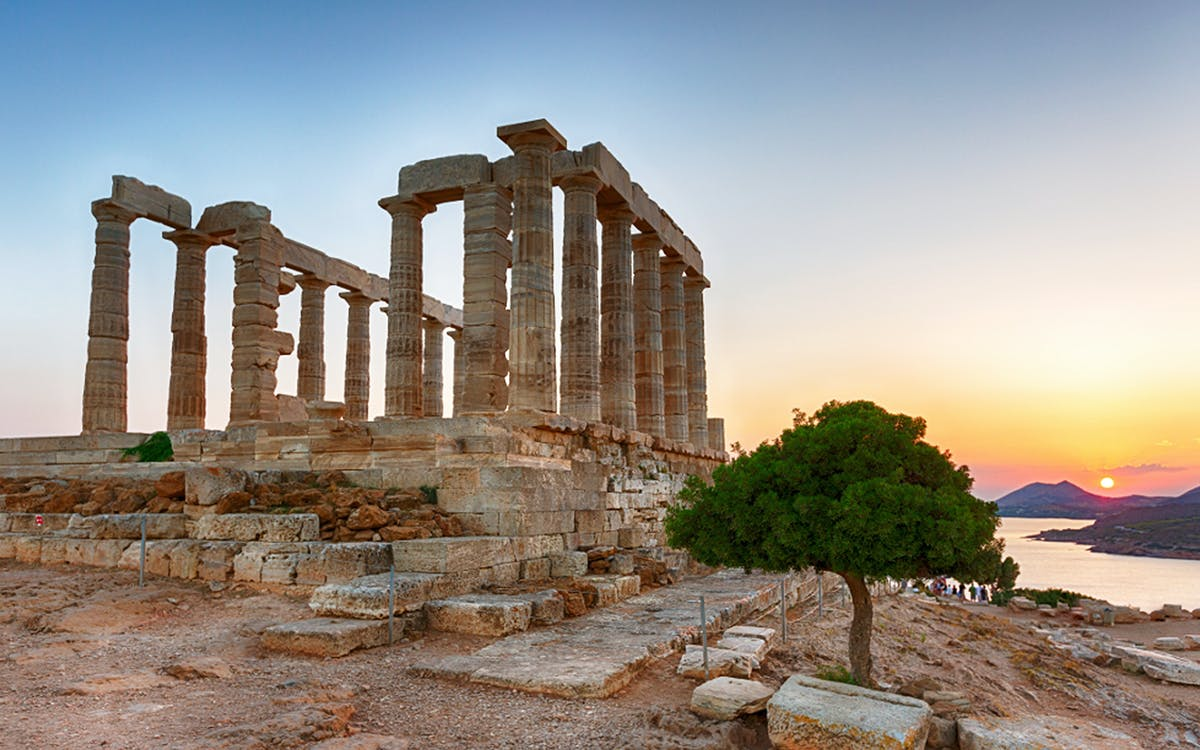 temple of poseidon and cape sounion sunset tour with audio guide in 6 languages-0