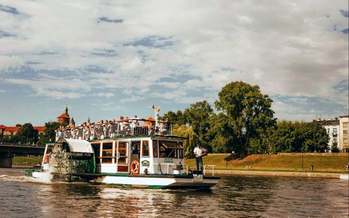 panoramic sightseeing cruise on the vistula river - 1 hour-0