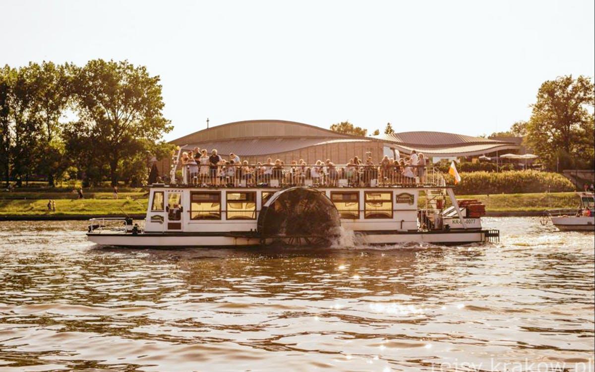 vistula river - 1 hour evening sightseeing cruise-0