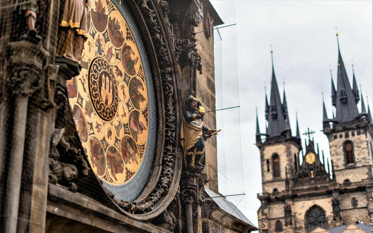 prague: skip the line tickets to the astronomical clock tower-0