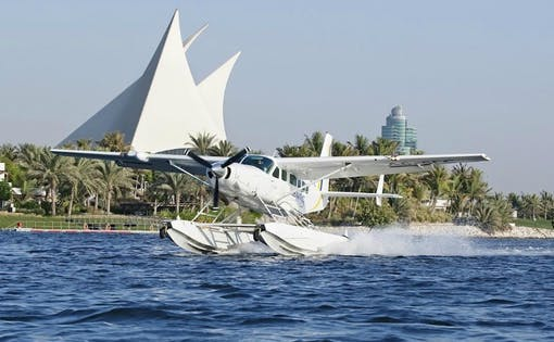 Seawings Seaplane Tour of Dubai with Take Off from Jebel Ali