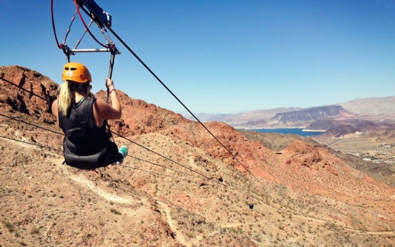 bootleg canyon zipline tour -1