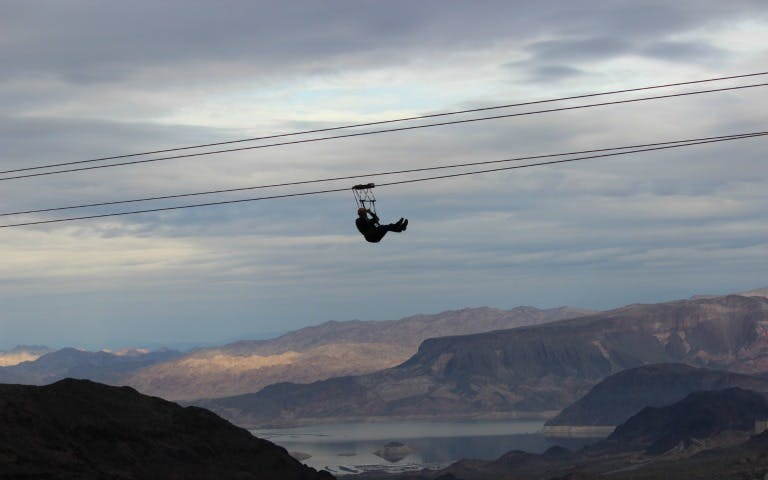 bootleg canyon zipline tour -2