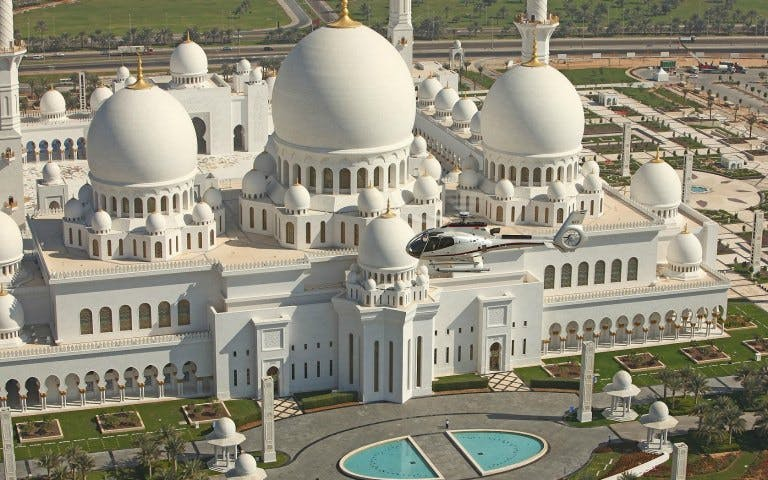 sheik zayed mosque, heritage village & gold souk tour-1