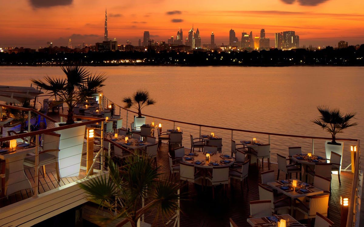 dhow dinner cruise with live entertainment in dubai creek and the open seas-1