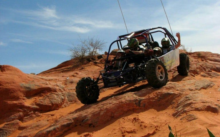 Mini Dakar Buggy Ride