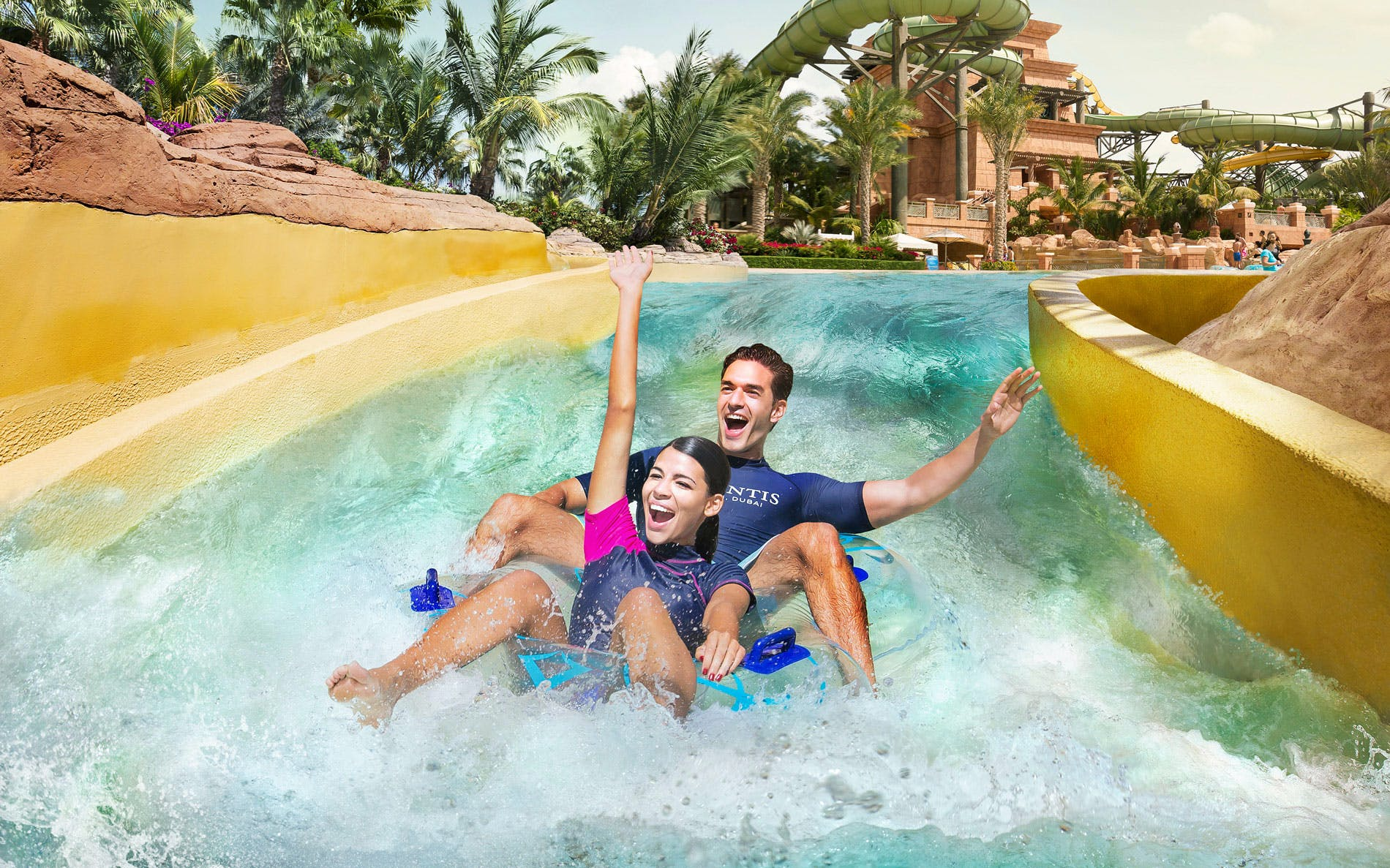best-water-parks-in-dubai-aquaventure-water-park