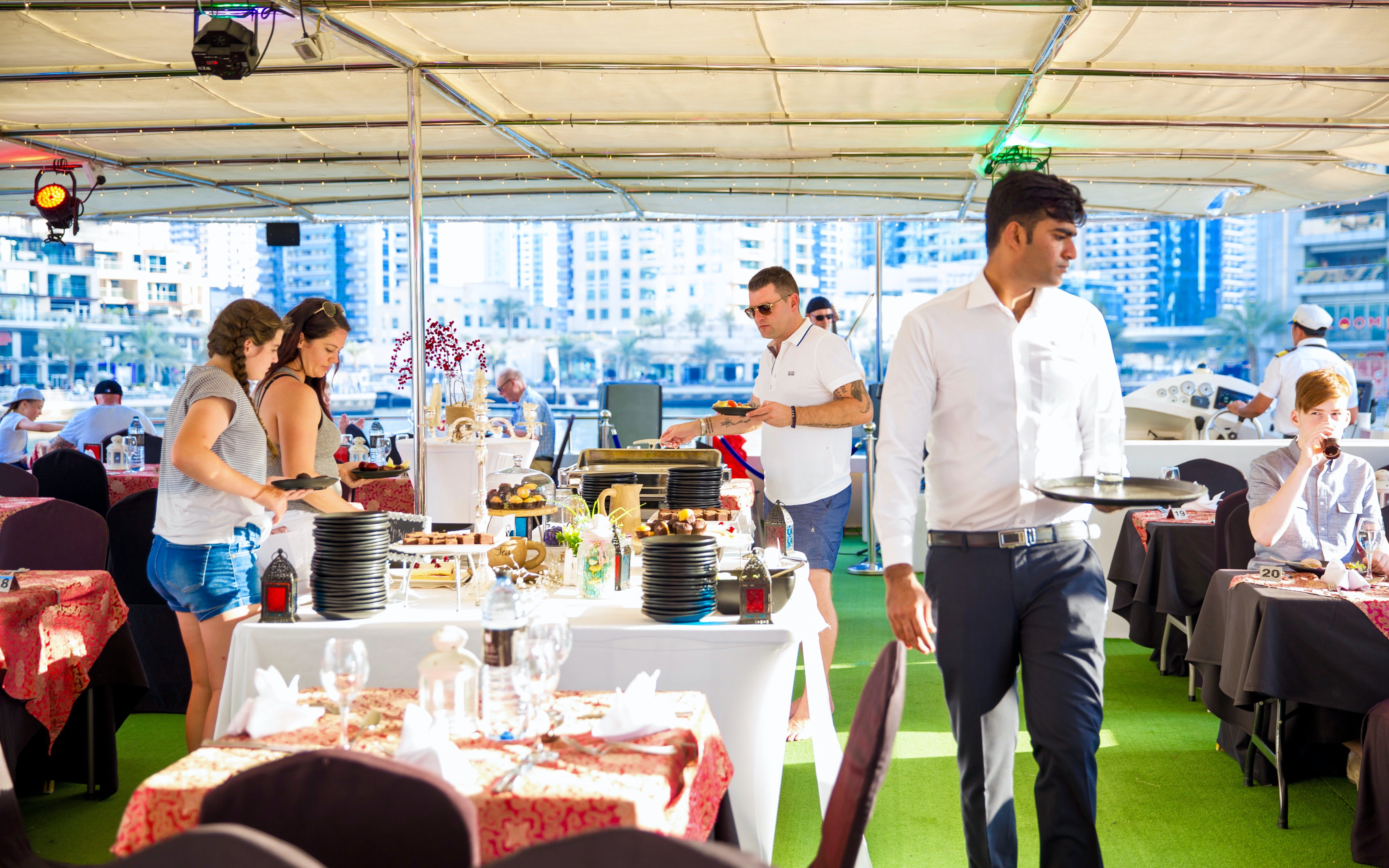 marina sunset cruise with live music & dinner bufffet-3