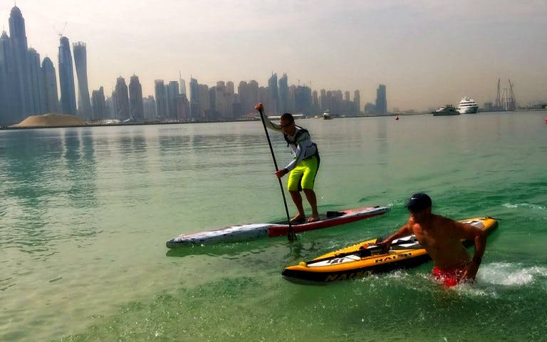 Palm Jumeriah Kayak Tour