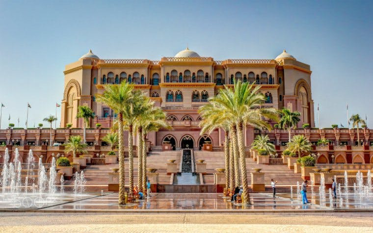abu dhabi day trip - Emirates Palace