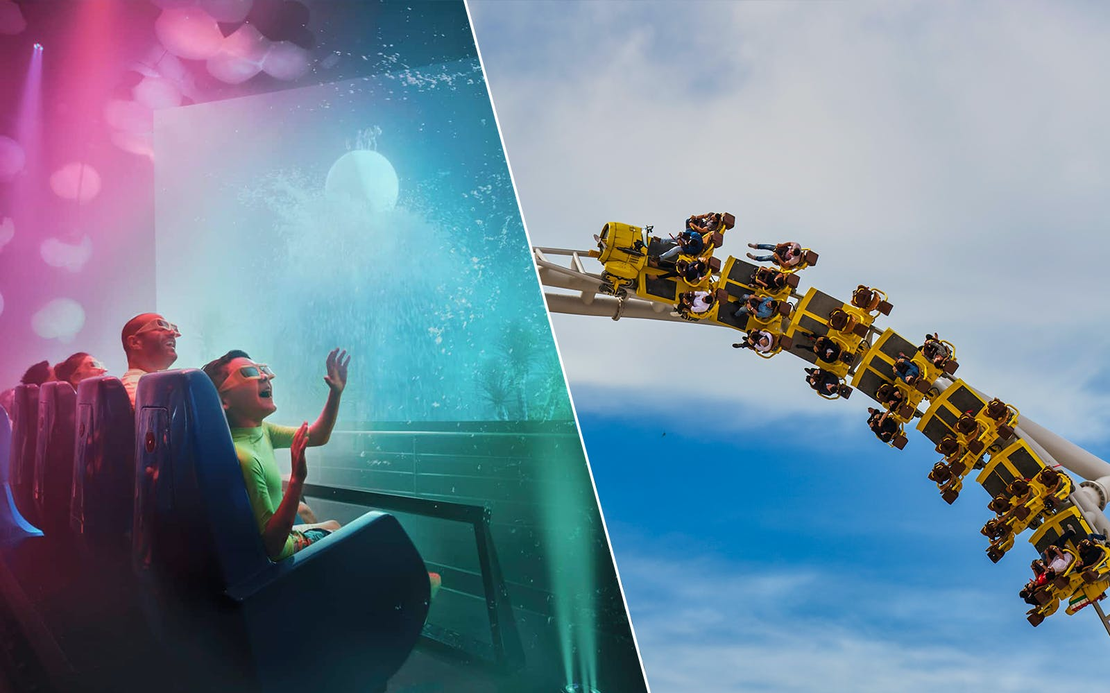 Ferrari World and Yas Waterworld: Two Day Pass