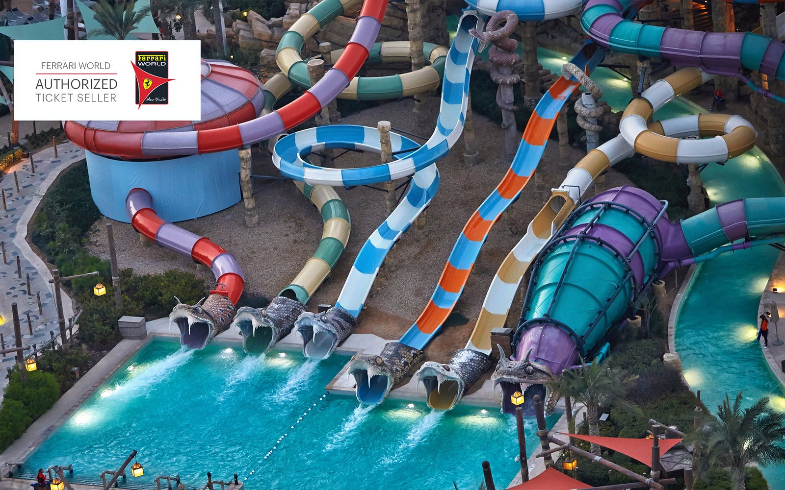 ferrari world and yas waterworld: two day pass -2