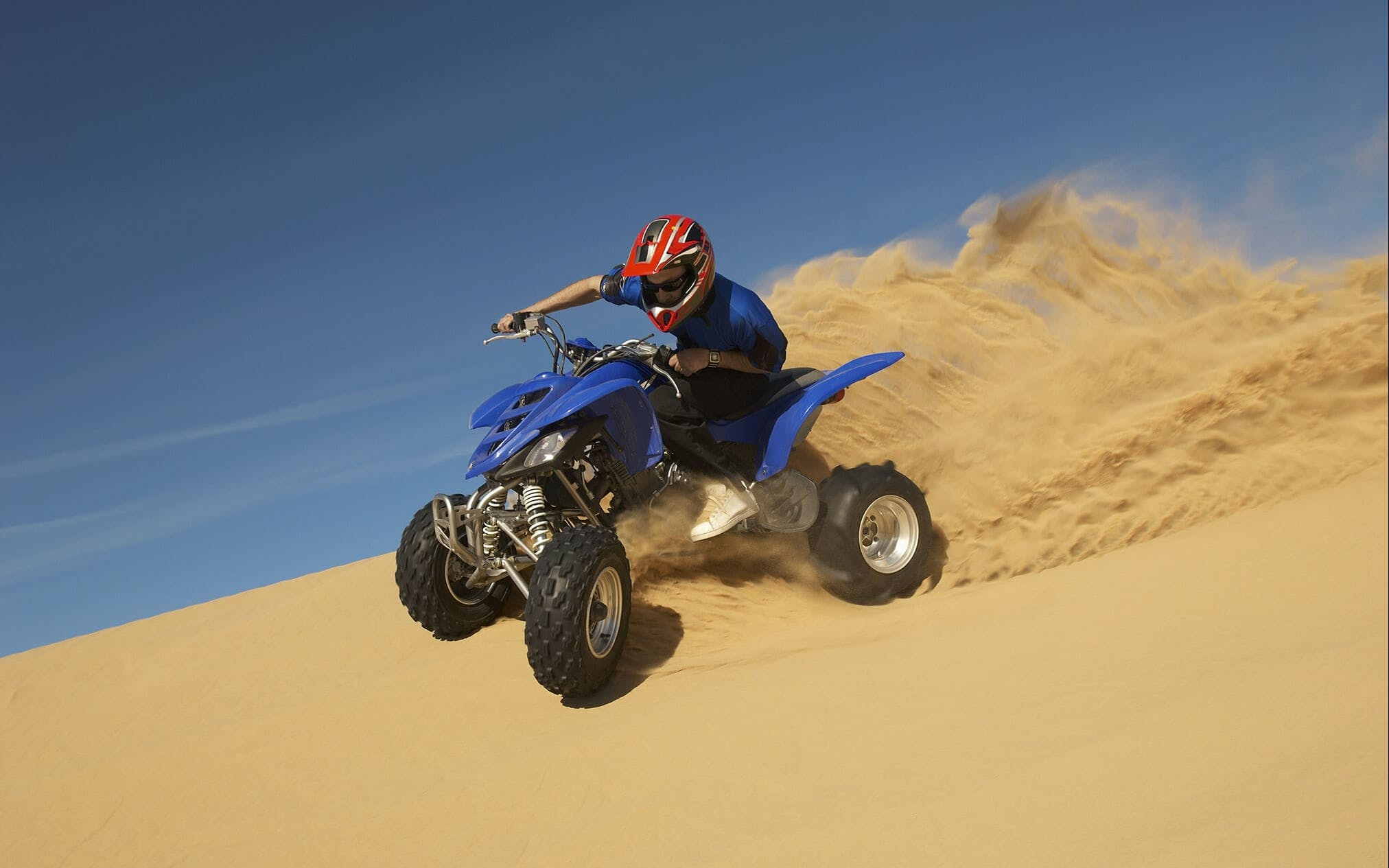 quad biking dubai desert safari