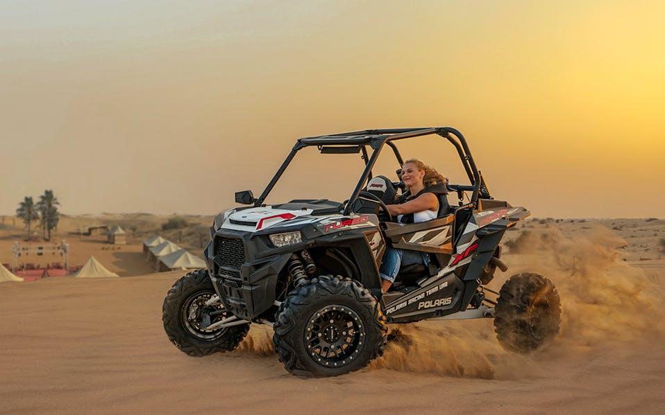 evening desert safari + quad biking + bbq dinner-1