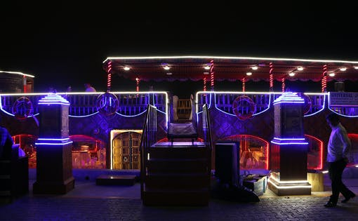 Dhow Dinner Cruise with Live Entertainment in Dubai Creek