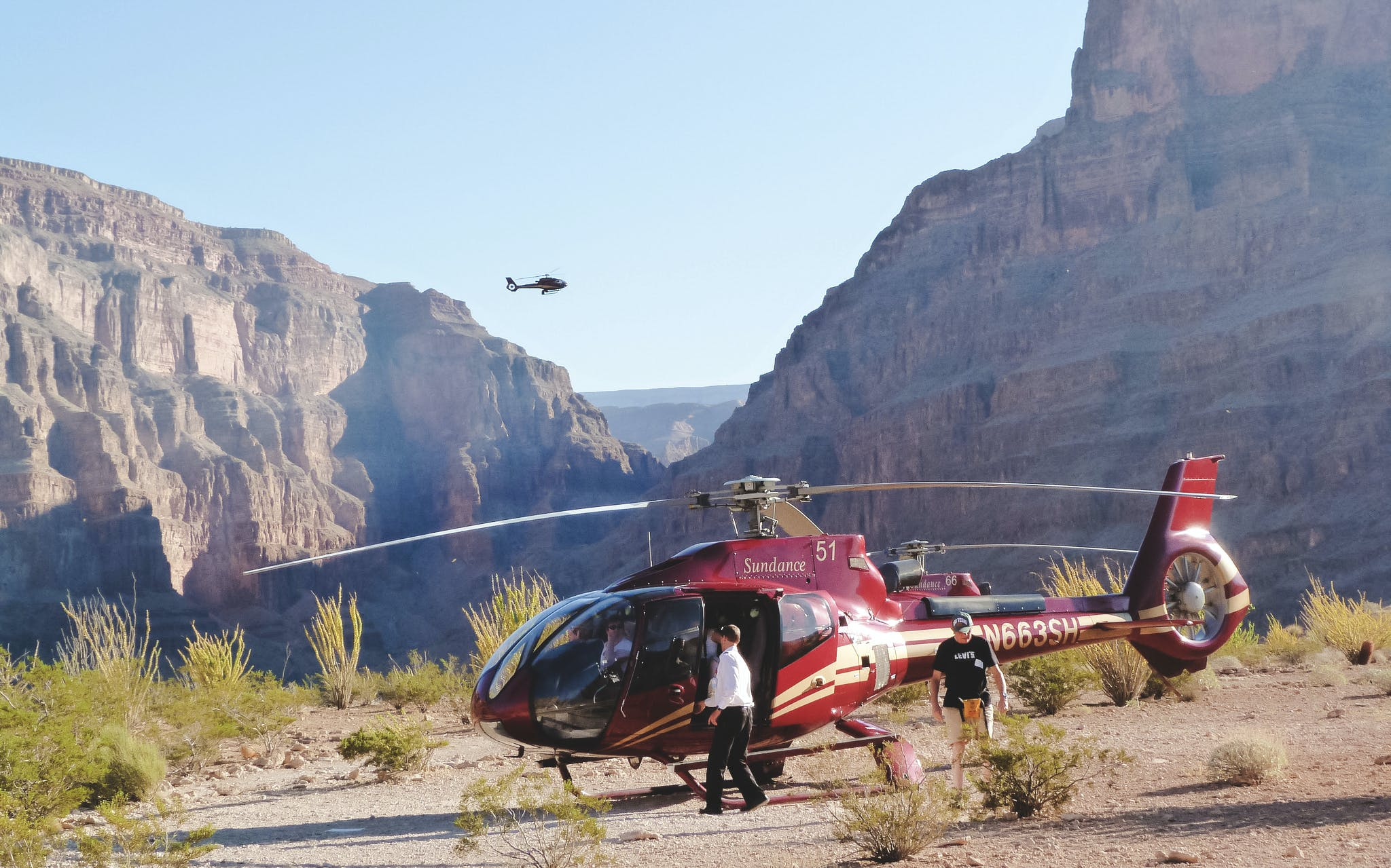 grand canyon west rim heli tour -1