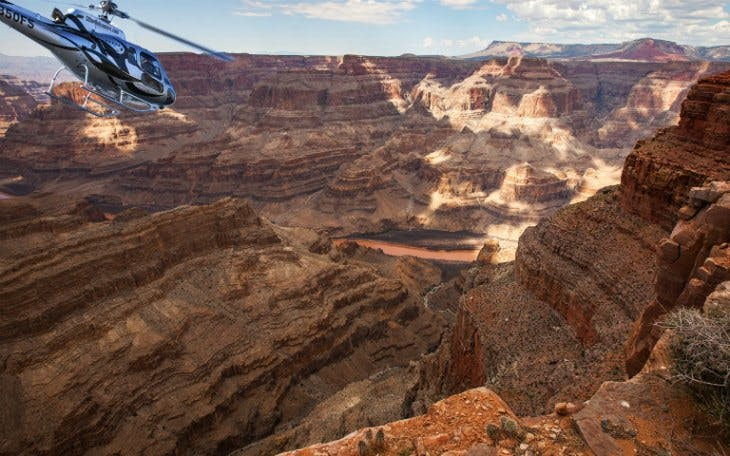 grand canyon heli tour + drive a supercar combo-1