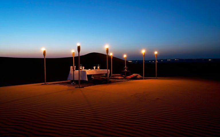 Romantic Private Dune Dinner