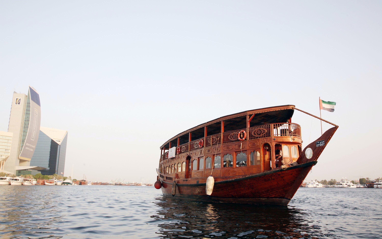 Dubai Dhow Cruise - Marina Sightseeing Cruise